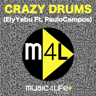 Ely Yabu and Paulo Campos releases Crazy Drums